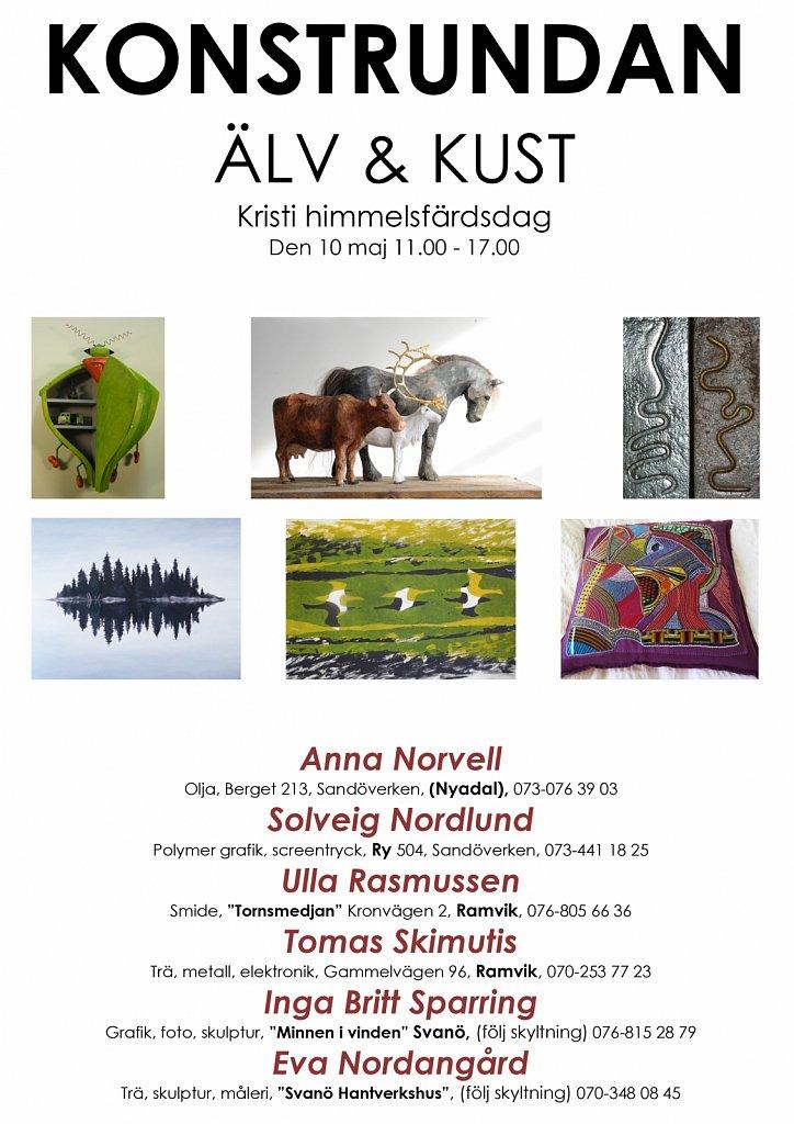 Microsoft Word - Ny affisch Konstrundan Älv och kust.docx